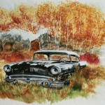 Buick in fall colors