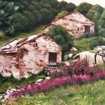 Italian Alps Acrylic Painting
