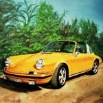 Porsche 911 Painting