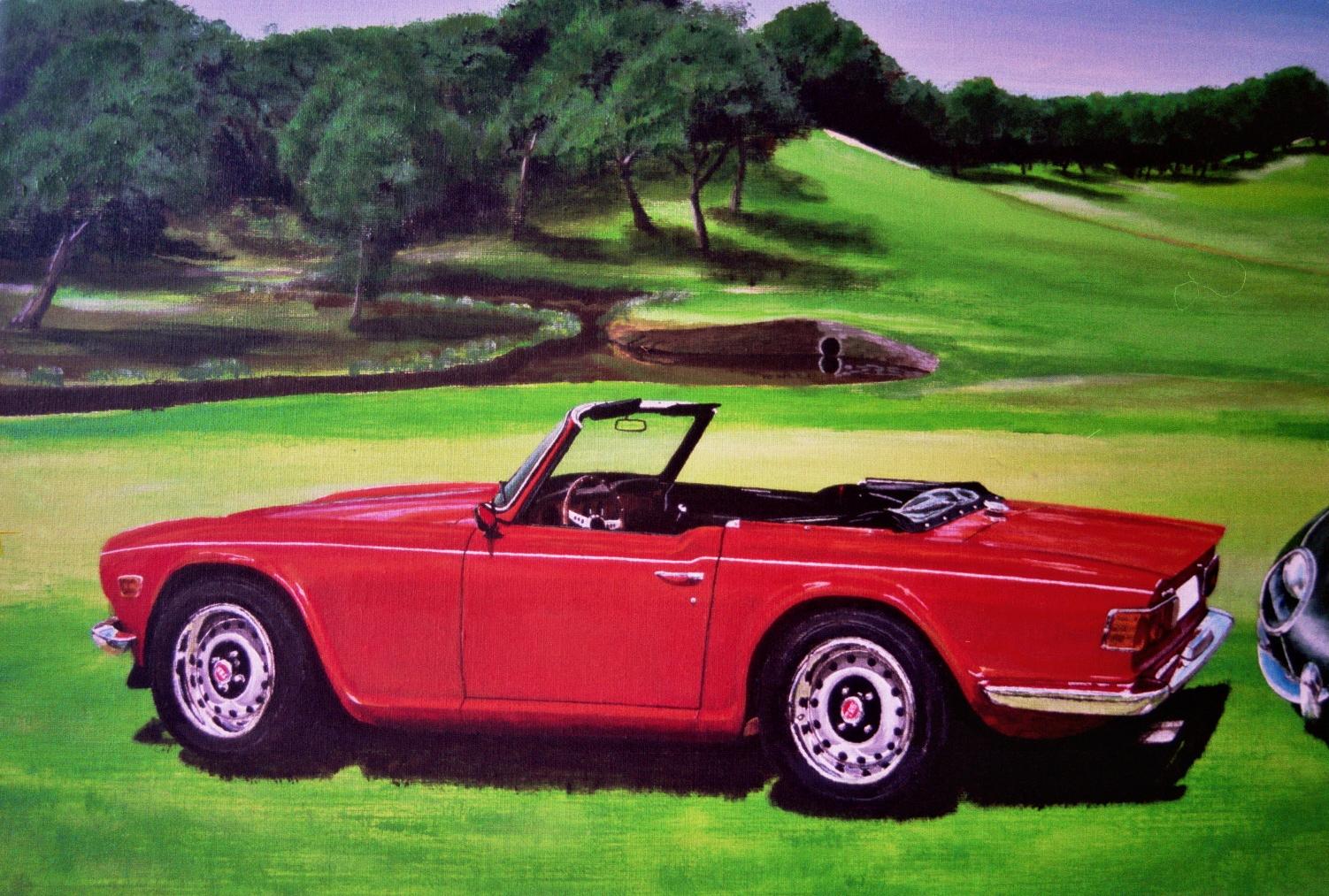 Triumph Acrylic Painting