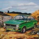 painting of car
